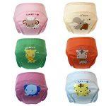 Skhls Culottes d'apprentissage Lavable Anti-fuite Couches-Culottes pour les Enfants 12 mois-3 ans de la marque Skhls image 0 produit