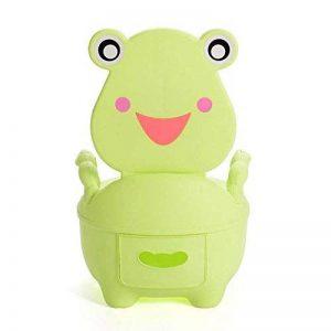 SLHP De toilettes bébé pot éducatif Potty Trainer pour toilettes bébé pot de toilette et repose-pieds pour enfants Enfants Tabouret (Vert Clair) de la marque SLHP image 0 produit