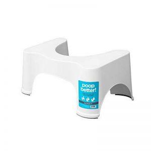Squatty Potty - Marche pied - Recommandé dans les cas de constipation, d'affaiblissement du périnée et d'incontinence - Taille 23 cm (9'') de la marque Squatty Potty image 0 produit