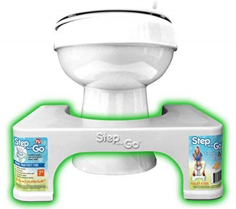 Squat-n-Go Toilettenhocker in 3 Farben