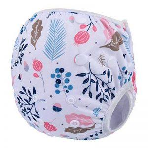 Storeofbaby Pantalons de natation réutilisables de couches de bébé pour le nouveau-né 0-36 mois de la marque Storeofbaby image 0 produit