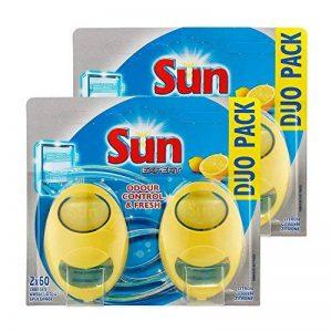 Sun Désodorisant Pour Lave-Vaisselle Expert Citron Duo Pack - Lot de 2 de la marque Sun image 0 produit