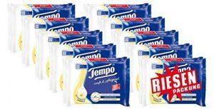 Tempo Lot de 2 packs de papier toilette humide, 2 x 84 lingettes de la marque Tempo image 0 produit