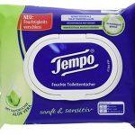 Tempo Papier Toilette humide Douceur et Sensitiv, 16x 42lingettes de la marque Tempo image 1 produit