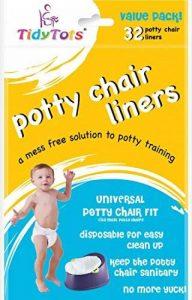 TidyTots - Sacs jetables pour pot pour bébé - Pack économique – universels (conviennent à la plupart des pots) - 32 sacs de la marque Tidy Tots image 0 produit