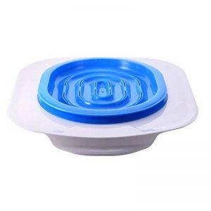 Ueetek pour animal domestique Réducteur de toilette pour chat d'apprentissage de la propreté Plateau Chats kit (Bleu) de la marque UEETEK image 0 produit