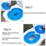 Ueetek pour animal domestique Réducteur de toilette pour chat d'apprentissage de la propreté Plateau Chats kit (Bleu) de la marque UEETEK image 4 produit