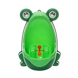 Urinoir pour bébé - En forme de grenouille - Parfait pour aider les mamans qui apprennent à leur enfant à aller aux toilettes - Pour salle de bain - Vert de la marque Sungpunet image 0 produit