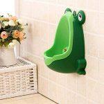 Urinoir pour bébé, Urinoir formation Potty grenouille mignon pour les garcons (vert) de la marque hou zhi liang image 4 produit