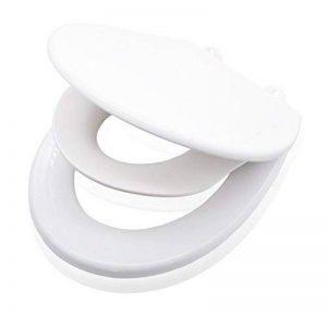 VALNEO siège toilettes familial premium avec lunette pour enfants en plastique robuste, fonction easy-clean | 2 ans de garantie satisfaction | siège toilettes, lunette WC, siège toilettes enfants, lunettes WC enfants, rehausse enfants pour toilettes de la image 0 produit