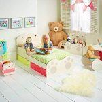 Worlds Apart 865319 Ours Calin Bureau Bois Beige 48 x 52 x 63 cm de la marque Worlds Apart image 4 produit